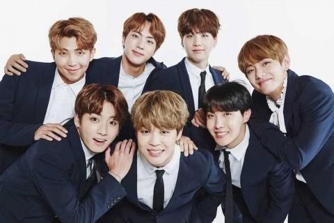 BTS jadi Grup K-Pop Pria Paling Populer