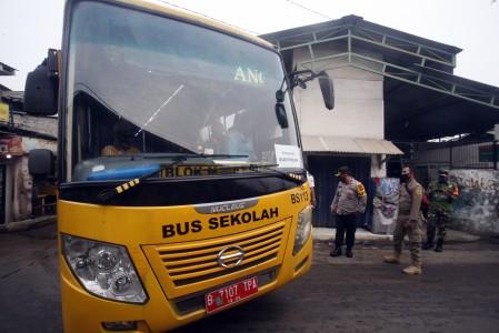 Bus Gratis Buat Warga Jabodetabek Mulai Beroperasi