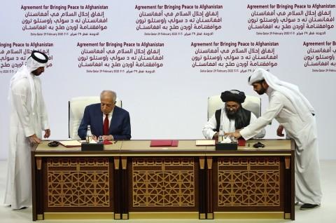Afghanistan dan Taliban Sepakati Dialog Damai di Doha