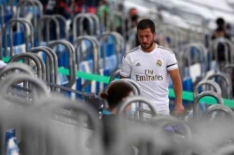 Meski Cedera Lagi, Zidane Tetap Takjub dengan Hazard
