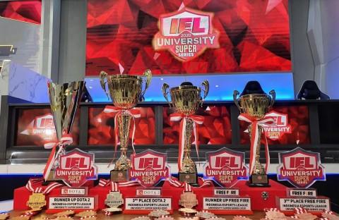 UNJ dan UGM Jadi Pemenang Juara IEL University Super Series