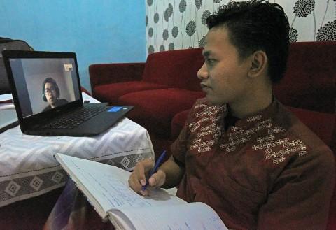 Tangsel Zona Merah, Sekolah Lanjutkan Belajar di Rumah