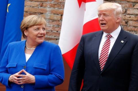 Trump Sebut Jerman Negara 'Nakal'