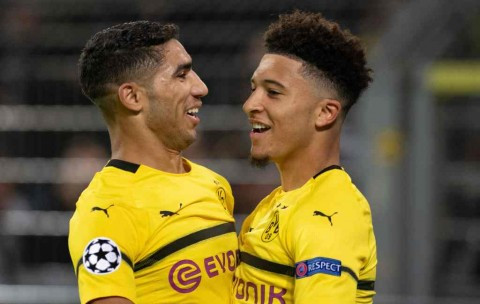 Pelatih Dortmund Pasrah dengan Masa Depan Sancho dan Hakimi