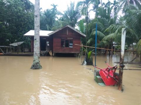 Banjir Merendam Belasan Rumah di Aceh Timur