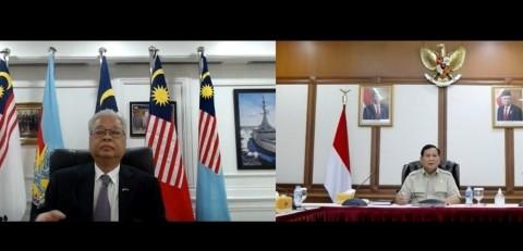 Prabowo dan Menhan Malaysia Bahas Penguatan Hubungan Pertahanan