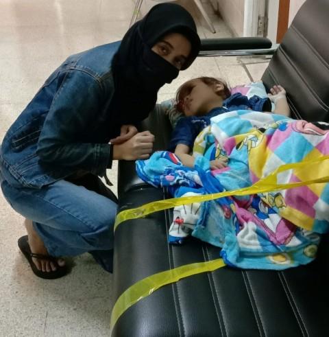 Balita Penderita Kanker Mata Sulit Dapat Pengobatan Selama Pandemi