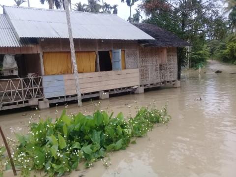 385 Jiwa Mengungsi Akibat Banjir di Aceh Utara