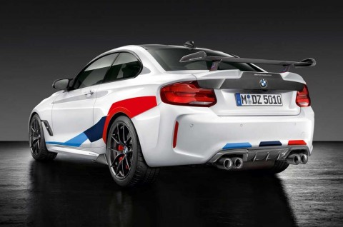 BMW M2 Competition ala M Performance Tampil Sporty