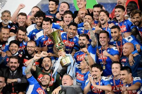 Tekuk Juventus, Napoli Juara Coppa Italia Keenam Kalinya