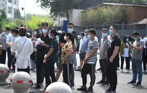 Beijing Terinfeksi Covid-19, Tiongkok Tingkatkan Kebersihan Pasar