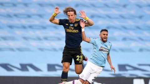 Arsenal Dihajar Manchester City, David Luiz Tanggung Jawab