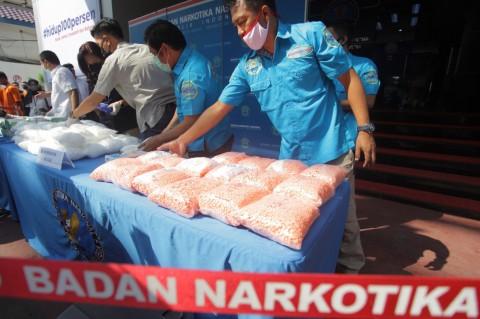 BNN Gagalkan Penyelundupan 118,9 Kg Sabu