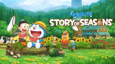 Review Doraemon: Story of Seasons, Harvest Moon Bertema Doraemon