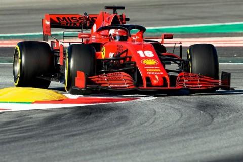 Leclerc Uji Coba Mobil F1 Ferrari di Jalanan Maranello