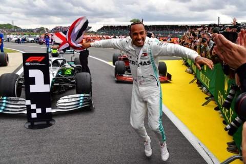 Hamilton Nantikan Mobil Formula 1 yang Lebih Kencang