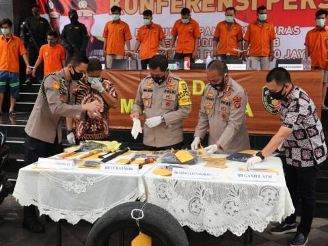 Garong Bersenjata Api di Bojongsari Ditangkap