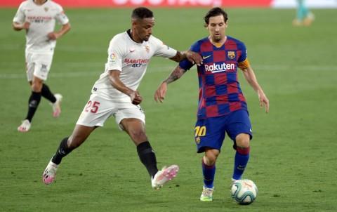 Tren Kemenangan Barcelona Terhenti di Markas Sevilla