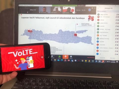 Telkomsel Gelar Layanan VoLTE di Bogor dan Sidoarjo