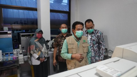 Pemda Sidoarjo Segera Operasikan Dua Mesin PCR