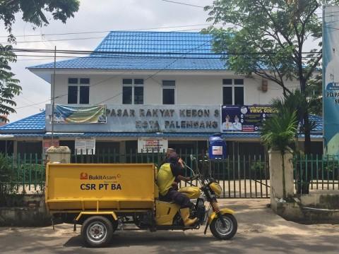 29 Pedagang di Pasar Tradisional Palembang Positif Covid-19