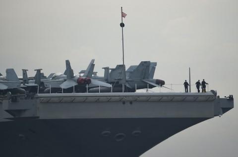 Tiga Kapal Induk AS Beroperasi Dekat Laut China Selatan