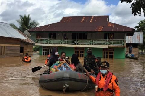 Konawe Utara Tetapkan Status Tanggap Darurat Banjir