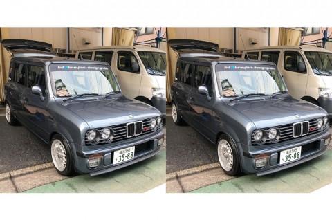 Operasi Wajah Suzuki Lapin Bertampang BMW