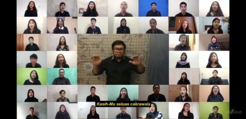 UNS Gelar Paduan Suara Virtual Pertama di Indonesia