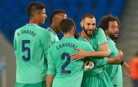 Bungkam Sociedad, Madrid Rebut Puncak Klasemen dari Barcelona