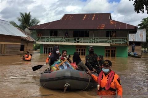 Banjir, 1.965 Jiwa di Konawe Utara Mengungsi