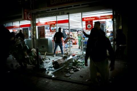 Operasi Narkoba di Jerman Berujung Pada Kerusuhan