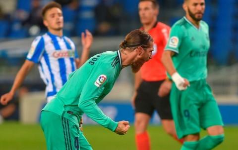 Cetak Gol, Ramos Jadi Bek Tersubur Sepanjang Sejarah Liga Spanyol