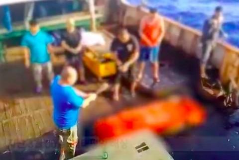 Tiga Pelaku Perdagangan Orang di Kapal Long Xing 629 Ditangkap