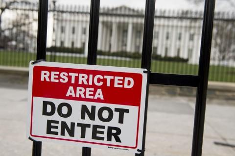 Secret Service Minta Wartawan Tinggalkan Gedung Putih