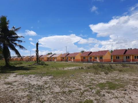 Pembangunan 36 Rumah Nelayan Habiskan Rp4,6 Miliar