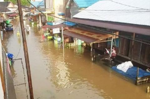 4 Kelurahan di Kotawaringin Timur Terendam Banjir