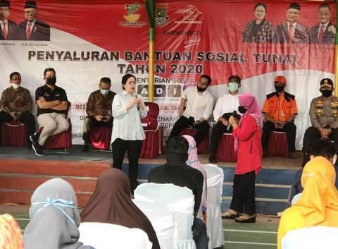 Puan Bakal Evaluasi Bantuan Non-Tunai