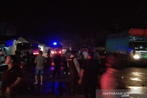 Aksi Tolak Kedatangan 500 TKA di Sultra Ricuh