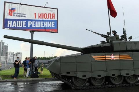 Rusia Siapkan Parade Kemenangan Perang Dunia II
