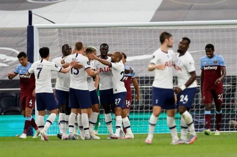 Tekuk West Ham, Tottenham Dekati Zona Eropa
