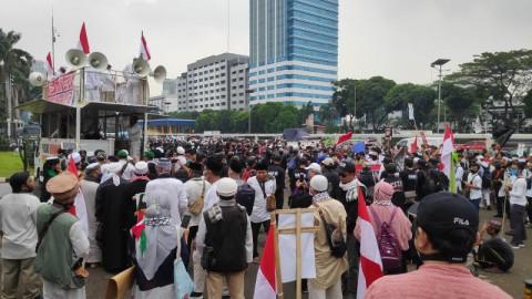 Gabungan Ormas Islam Demo Tolak Pembahasan RUU HIP