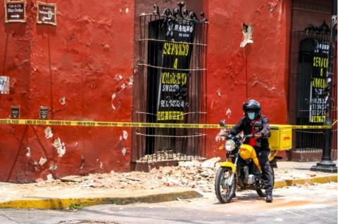 Deretan Gempa Meksiko yang Paling Kuat Pernah Melanda