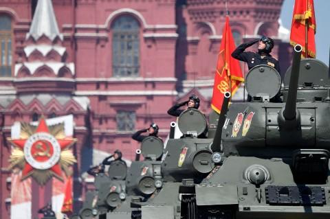 Rusia Gelar Parade Militer Kemenangan Atas Nazi di PD II