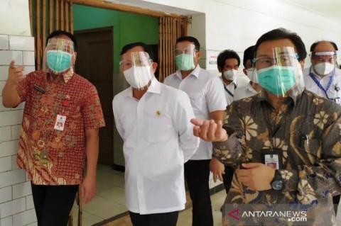 Menkes Tak Paksa Surabaya Lanjutkan PSBB