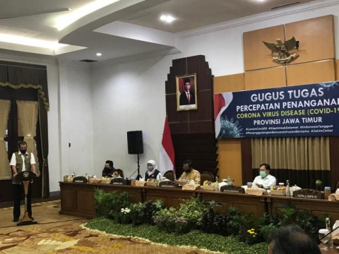 Khofifah Lapor ke Pusat Kasus Covid-19 Jatim Bisa Lampaui Jakarta
