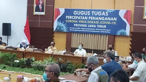Khofifah: Mayoritas Warga Surabaya Raya Abai Protokol Kesehatan