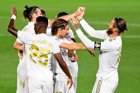 Kalahkan Mallorca 2-0, Real Madrid Kembali Puncaki Klasemen