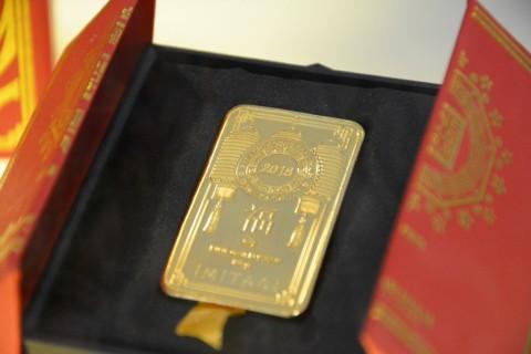 Emas Antam Merosot Rp9.000/Gram