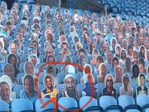 Osama bin Laden Ramaikan Tribun Penonton Leeds United